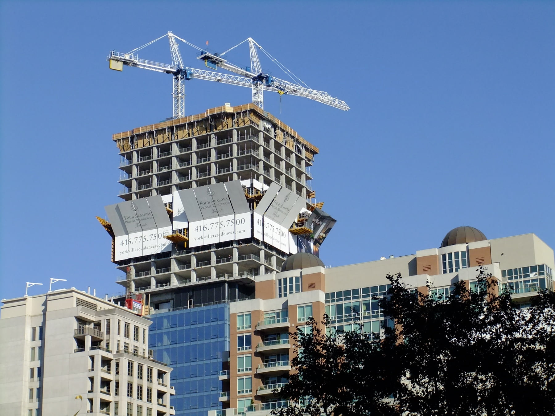 Latest News On New Condominium Projects Planned For Yorkville Toronto