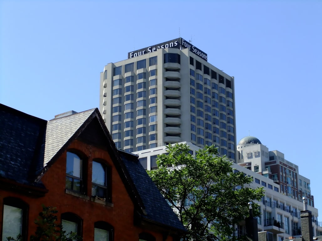Out with the Old Four Seasons Hotel, in with the New Yorkville Plaza Condos Toronto
