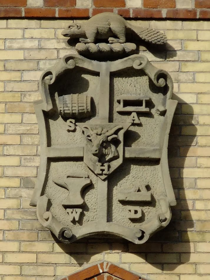 Yorkville Coat Of Arms At The Yorkville Fire Hall