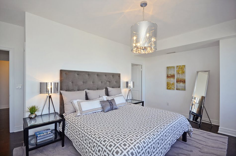 35 Balmuto Street Suite 3802 Uptown Condos Yorkville Toronto Master Bedroom Victoria Boscariol Chestnut Park Real Estate