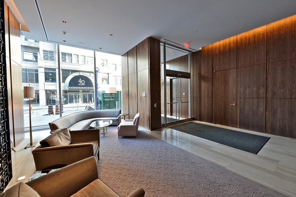 Four Seasons Condos 55 Scollard St Yorkville Toronto Building Lobby Victoria Boscariol Chestnut Park Real Estate