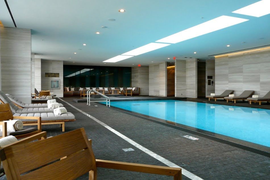 Four Seasons Hotel & Private Residences Indoor Pool Yorkville Toronto Luxury Condos Victoria Boscariol Chestnut Park Real Estate