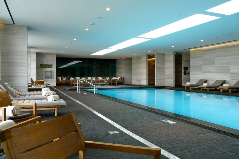 Four Seasons Hotel & Private Residences Indoor Pool Yorkville Toronto Luxury Condos Victoria Boscariol Chestnut Park Real Estate s