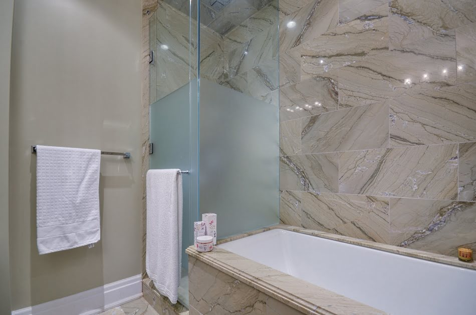 Four Seasons Hotel & Private Residences 55 Scollard St Suite 1702 Yorkville Toronto Condos Master Ensuite Bath Victoria Boscariol Chestnut Park Real Estate