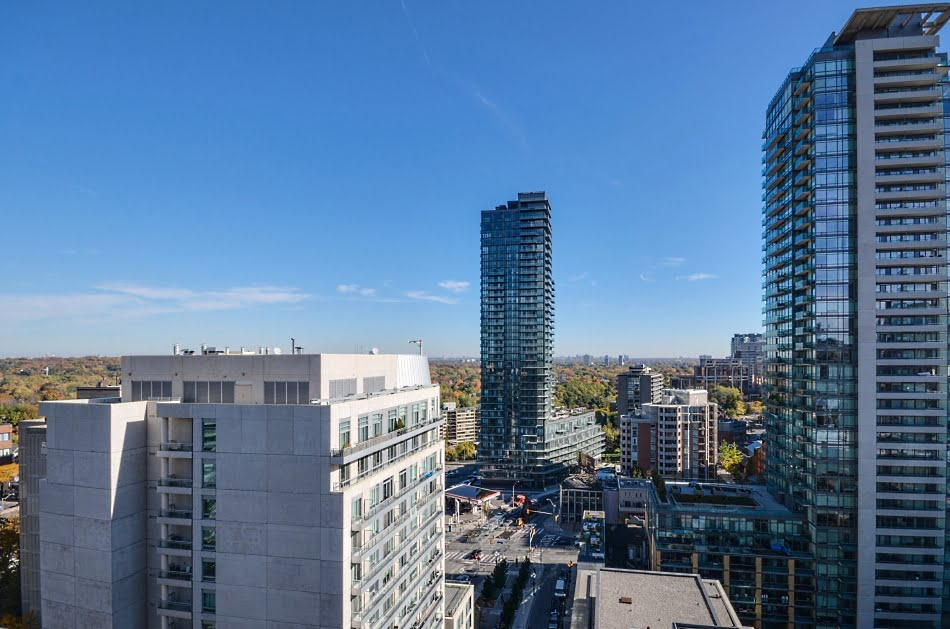 Four Seasons Yorkville Toronto Condos For Sale  55 Scollard St Suite 1702 View From Balcony Victoria Boscariol Chestnut Park Real Estate
