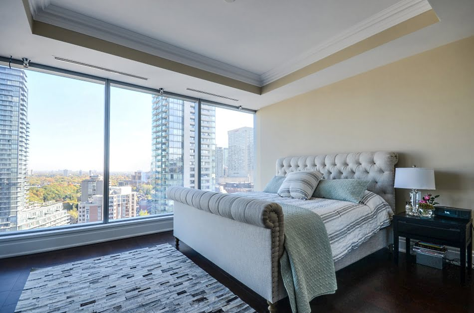 Four Seasons Yorkville Toronto Condos For Sale Master Bedroom 55 Scollard St Unit 1702 Victoria Boscariol Chestnut Park Real Estate