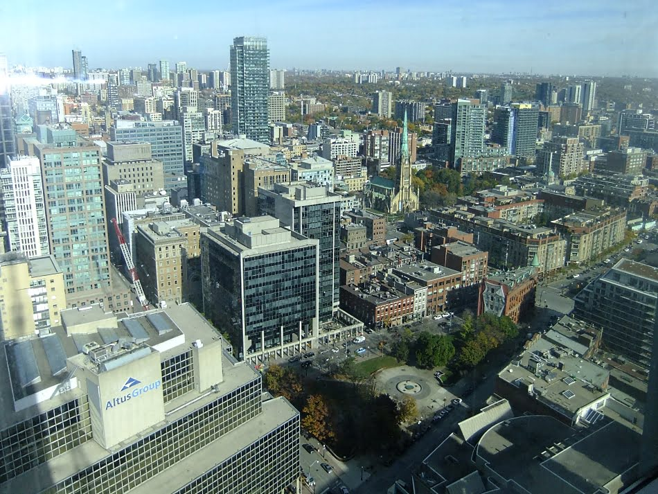13. L Tower Condos Toronto For Sale View From Unit 3907 Victoria Boscariol Chestnut Park Real Estate