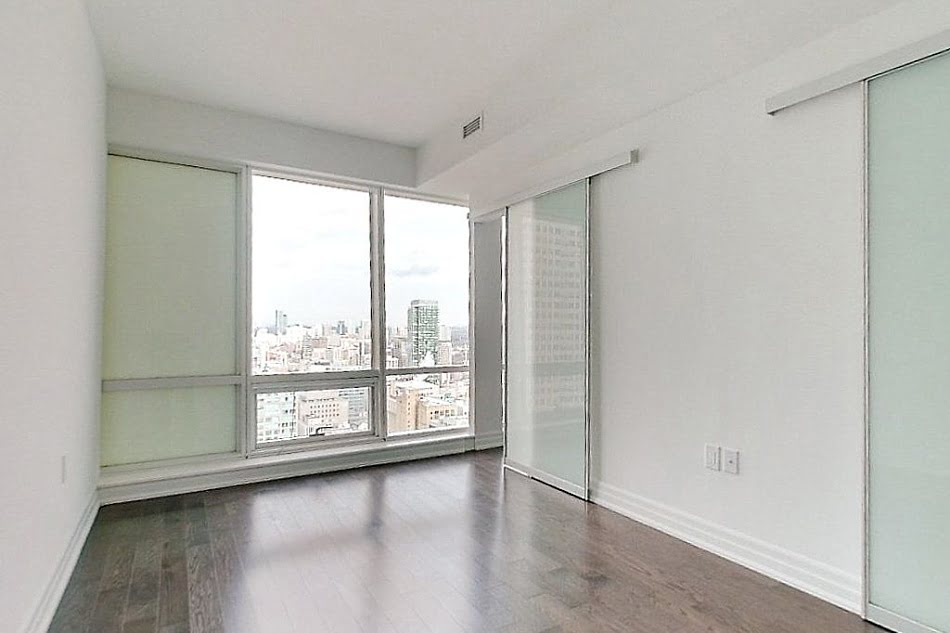 6. L Tower Downtown Toronto Condos Unit 3907 Master Bedroom Victoria Boscariol Chestnut Park Real Estate