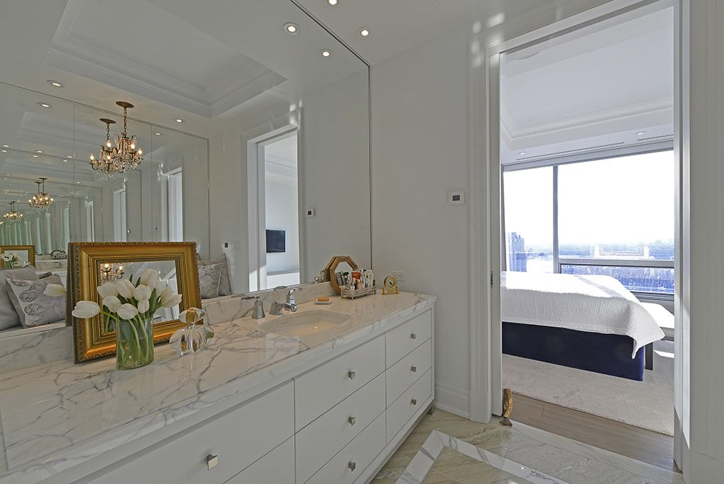 Four Seasons Private Residences Luxury Condos 50 Yorkville Ave For Sale Suite 2701 Master Ensuite Bathroom Victoria Boscariol Chestnut Park Real Estate