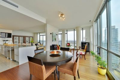 33 Mill St Suite 3002 Toronto Condos For Sale Distillery District Dining Room Victoria Boscariol Chestnut Park Real Estate r