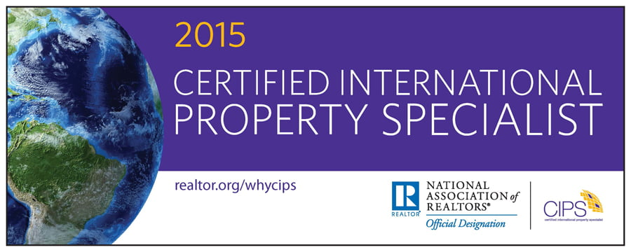 Victoria Boscariol Awarded Certified International Property Specialist Designation (CIPS)  From The National Association of REALTORS®