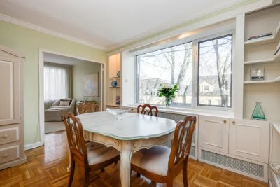 1901 Bayview Ave Leaside Condos Toronto Unit 109 For Sale Dining Room Victoria Boscariol Chestnut Park Real Estate r
