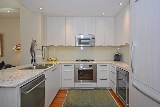 88 Davenport Rd Toronto Condos The Florian Yorkville Kitchen Unit 404 Victoria Boscariol Chestnut Park Real Estate