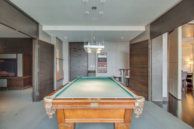 18 Yorville Ave Toronto Condos Billiards Room Victoria Boscariol Chestnut Park Real Estate r