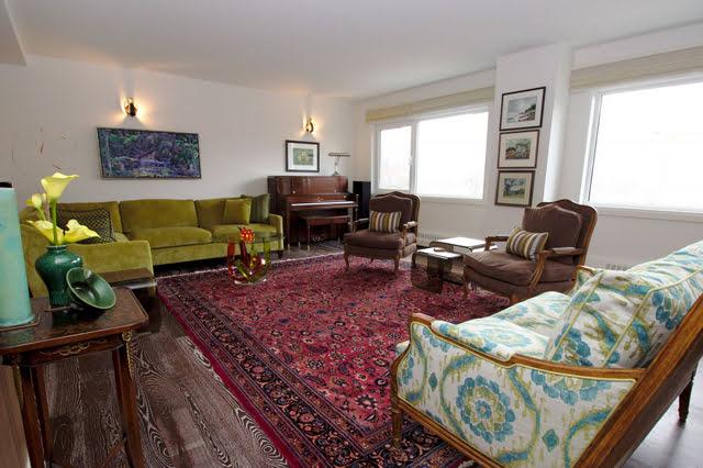 21 Dale Ave Rosedale Co-op Apartment Toronto Living Room Victoria Boscariol Chestnut Park Real Estate r