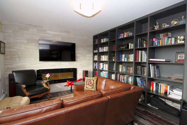 Toronto Luxury Co-ops Rosedale 21 Dale Ave Family Room Apartment 844 Victoria Boscariol Chestnut Park Real Estate r