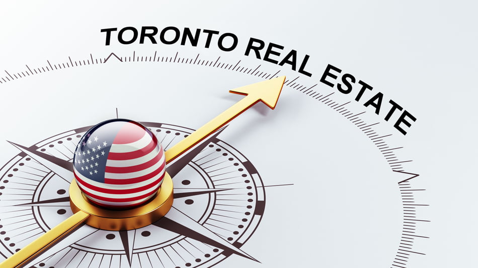 US Buyers Americans Purchasing Real Estate In Toronto Canada