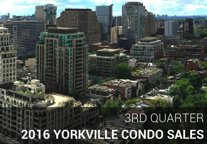 Yorkville Toronto Condo Sales Remain Strong With Higher Prices & Lower Inventory