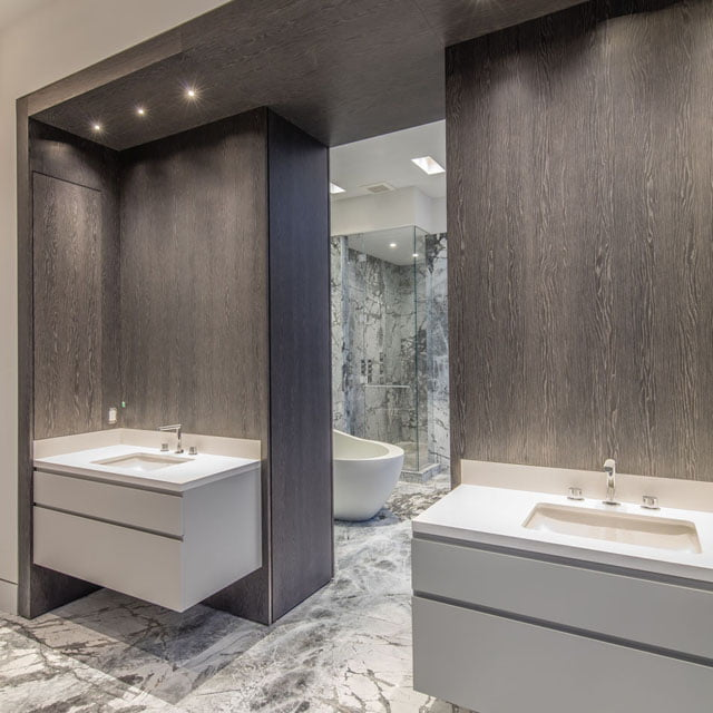 Yorkville Luxury Penthouse 88 Davenport Rd Toronto Master Bath Victoria Boscariol Chestnut Park Real Estate
