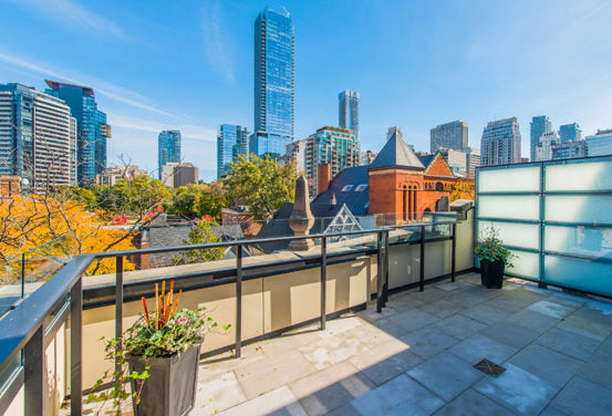 Boutique & Discrete FOR SALE Yorkville Luxury Condo With Fabulous Private Terrace
