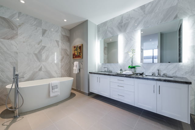 36 Hazelton Ave Suite 4A Yorkville Luxury Condos For Sale Master Bathroom Victoria Boscariol Chestnut Park Real Estate