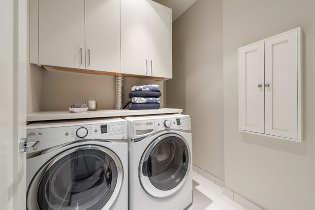 36 Hazelton Ave Yorkville Toronto Luxury Condos For Sale Suite 4A Laundry Room Victoria Boscariol Chestnut Park Real Estate