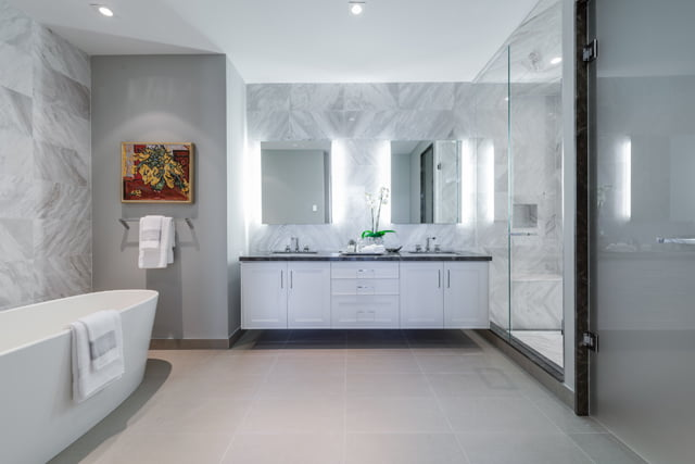 Master Bathroom 36 Hazelton Ave Suite 4A Yorkville Toronto Luxury Condos For Sale Victoria Boscariol Chestnut Park Real Estate