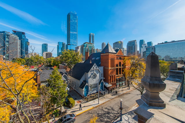 Yorkville Toronto Luxury Condos Penthouses For Sale 36 Hazelton Ave Suite 4A View From Terrace Victoria Boscariol Chestnut Park Real Estate