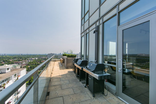 83 Redpath Ave Rooftop Terrace bbq barbecue barbeques Toronto Condos Victoria Boscariol Chestnut Park Real Estate