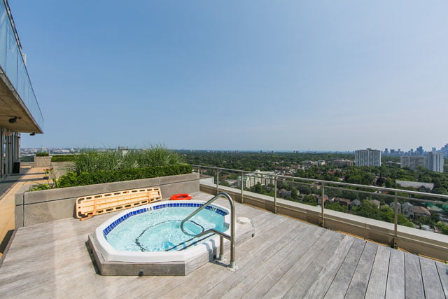 83 Redpath Ave Yonge Eglinton Condos Toronto Rooftop Terrace Hot Tub Victoria Boscariol Chestnut Park Real Estate