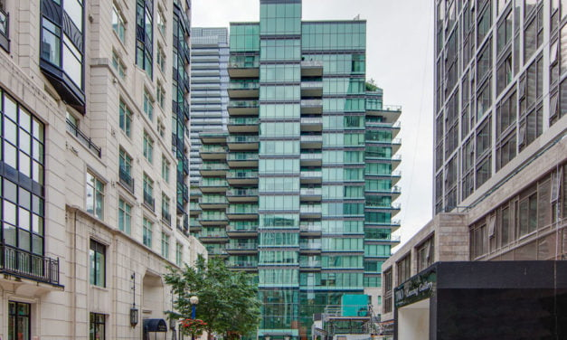 Yorkville Luxury Condo With Huge Terrace FOR LEASE 77 Charles St West Unit 1402 Toronto