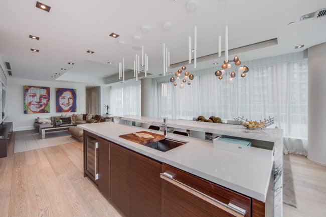 77 Charles St West Luxury Toronto Condos Yorkvile Unit 1402 Kitchen Victoria Boscariol Chestnut Park Real Estate