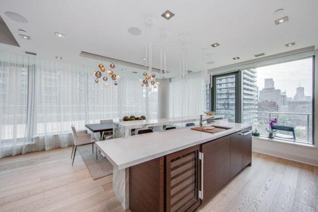 77 Charles St West Unit 1402 Kitchen Dining Room Victoria Boscariol Chestnut Park Real Estate