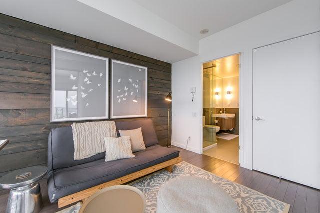 2nd Bedroom 70 Distillery Lane Unit 3507 Downtown Toronto Condos Victoria Boscariol Chestnut Park Real Estate