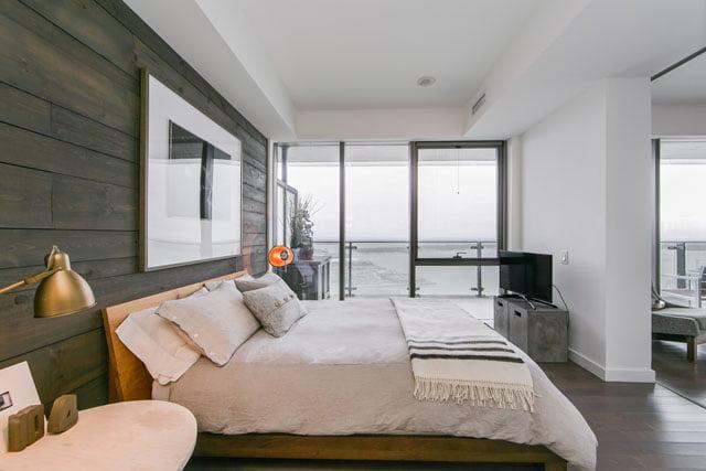 70 Distillery Lane Downtown Toronto Condos Master Bedroom Unit 3507 Victoria Boscariol Chestnut Park Real Estate