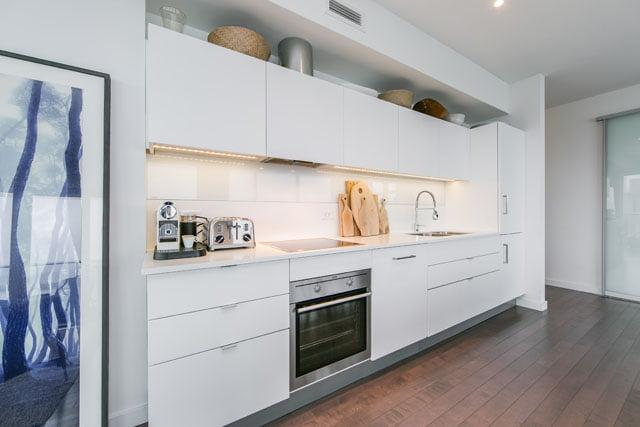 70 Distillery Lane Unit 3507 Kitchen Downtown Toronto Condos Victoria Boscariol Chestnut Park Real Estate