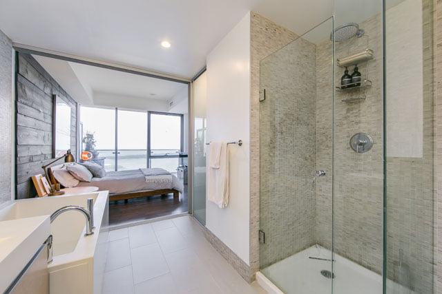 Master Bathroom Downtown Toronto Condos 70 Distillery Lane Suite 3507 Victoria Boscariol Chestnut Park Real Estate