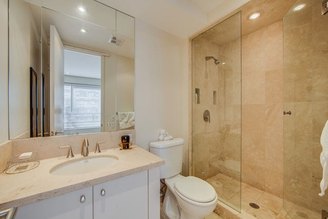 1132 Bay St Suite 1102 Second Bedroom Ensuite Bath Yorkville Toronto Condos Victoria Boscariol Chestnut Park Real Estate
