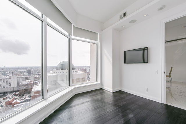 Lower Penthouse Unit 3113 Second Bedroom 155 Yorkville Ave Toronto Condos