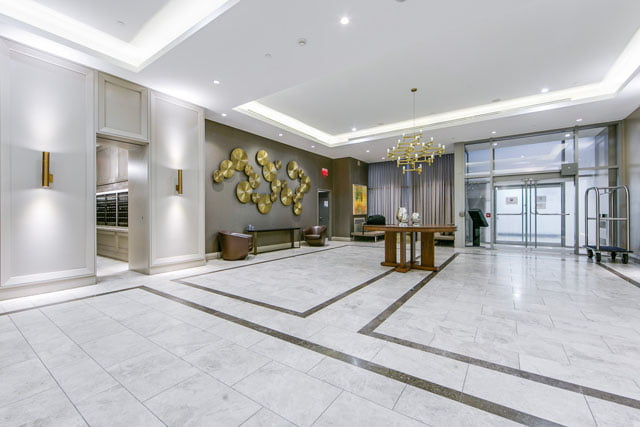 Residences Of Yorkville Plaza 155 Yorkville Ave Toronto Condos Lobby Victoria Boscariol Chestnut Park Real Estate