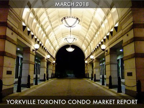 Yorkville Condo Sales Warm Up In March