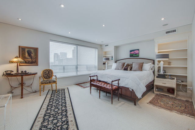 Yorkville Toronto Condos 1132 Bay St Suite 1102 Master Bedroom Victoria Boscariol Chestnut Park Real Estate