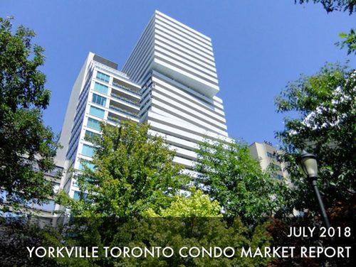 Yorkville Condo Sales Experience Slight Slowdown In July