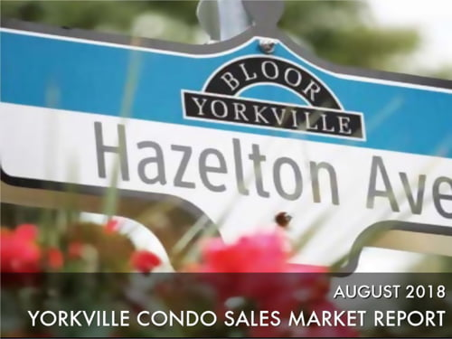 Yorkville Condo Sales Steam Upward In August