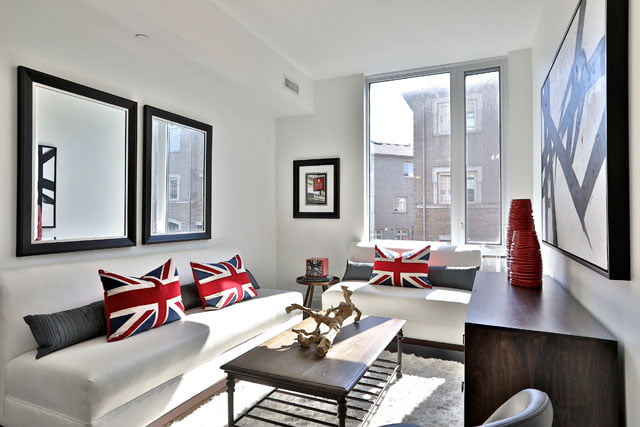 The Upper House Condos Townhouse 111 Den Easily Converts to 3rd Bedroom 25 Malcolm Rd Leaside Toronto Victoria Boscariol Chestnut Park Real Estate