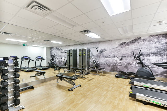 The Upper House Leaside Toronto Condos Gym 25 Malcolm Rd Victoria Boscariol Chestnut Park Real Estate