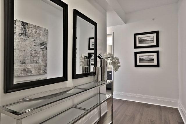 25 Malcolm Rd Toronto Suite 205 Entrance Upper House Condos Leaside Victoria Boscariol Chestnut Park Real Estate