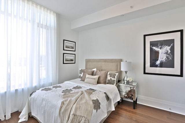 25 Malcolm Rd Unit 205 Second Bedroom Upper House Condos Leaside Toronto Victoria Boscariol Chestnut Park Real Estate