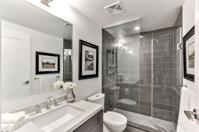 25 Malcolm Rd Unit 410 Second Bathroom Toronto Condos The Upper House Leaside Victoria Boscariol Chestnut Park Real Estate