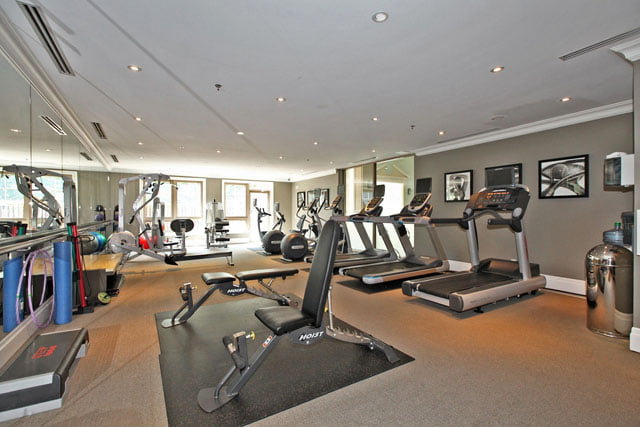 Kilgour Condos 20 Burkebrook Place Leaside Sunnybrook Toronto Condos Gym Victoria Boscariol Chestnut Park Real Estate